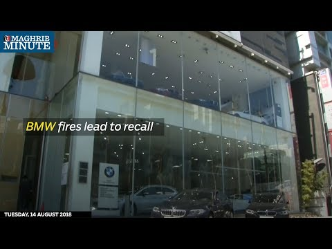 BMW fires lead to recall