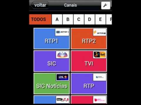 Video of Programação de TV PT Grátis