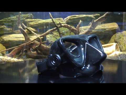 Маска PLASMA С4 для подводной охоты фридайвинга Video #1