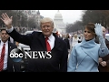 President Trump's Inauguration Day: Part 1