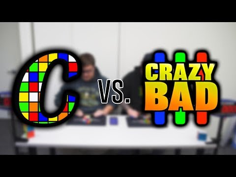 Two Old Guys Race 3x3 | Ft. CrazyBadCuber