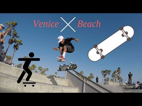 A Day in the Life of Nobi at Venice Beach...