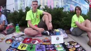 Patch trading at NOAC 2015