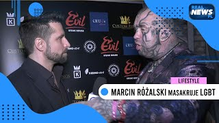 Marcin Różalski wściekły MASAKRUJE kartę LGBT [Od 18 lat!]