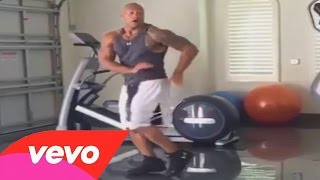 Dwayne 'The Rock' Johnson Does The 'Hit The Quan' Dance ! (#HitTheQuanChallenge Compilation)