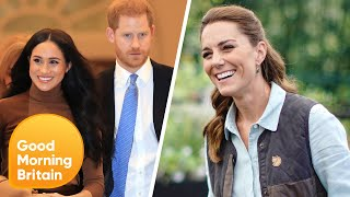 Duchess Of Cambridge Kate Middleton Named Most Popular Royal Beating Prince Harry | Lorraine