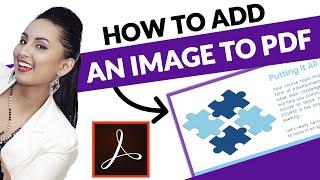 Adobe Acrobat Pro DC Add Image Into PDF File: Follow These Steps!