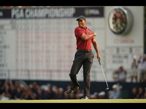 Tiger Woods 2018 PGA Championship complete final round
