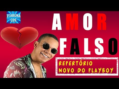 ALDAIR PLAY BOY - AMOR FALSO (REPERTÓRIO NOVO DO PLAYBOY)