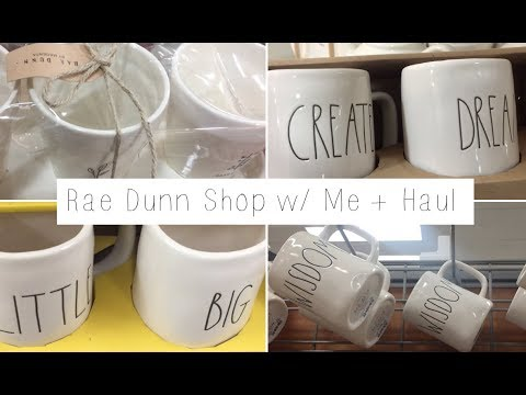 Shop With Me Rae Dunn Homegoods Tjmaxx 2018