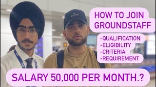 How to join Airlines   how to be an Airline Ground  staff   How to join ground staff   Groundstaff