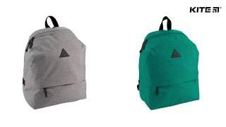 """Рюкзак молодежный Kite Urban K18-869L-2 от компании Интернет-магазин """"Радуга"""" - школьные рюкзаки, канцтовары, творчество - видео"""