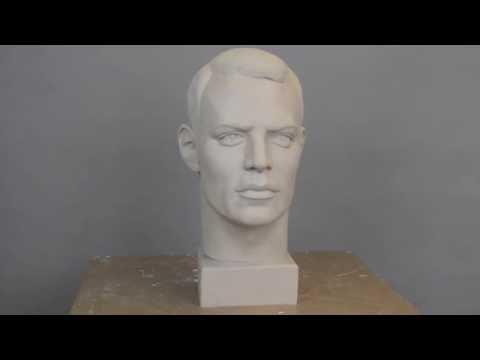 Modellieren in Ton/ Portrait/ Manuel Neuer