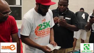 New Recruit Media LLC presents: TEAM E 9th ANNUAL 25K highlights semi final and championship game