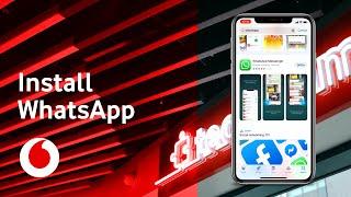 Vodafone WhatsApp | How to install WhatsApp on your iPhone | TechTeam Advert