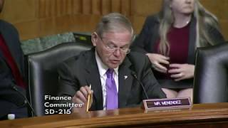 Menendez on Corporate Buybacks After GOP Tax Bill