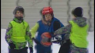 Стритбол на коньках в Яхроме