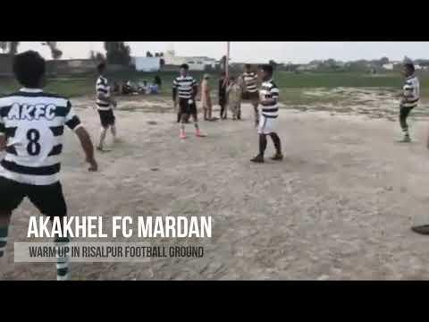Warm Up In Risalpur Ground AKFC
