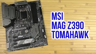 Материнская плата MSI MAG Z390 TOMAHAWK