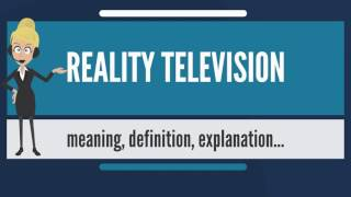 What is reality television show