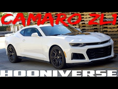"2018 Chevrolet Camaro ZL1 - American Muscle That Out ""sports"" More Expensive Rides"