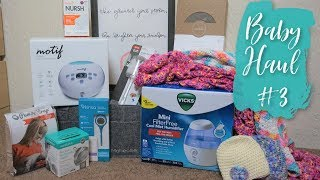 Baby Haul #3 // Baby Sprinkle, Registry Gifts + More!