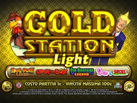 Video gameplay Gold Station Light