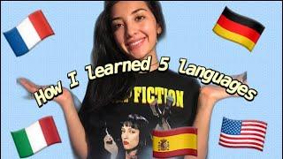 🌟How did I learn so many languages? 😱 American girl speaks 5 languages 🌟Americana habla Español 2020
