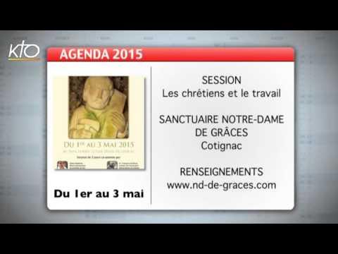 Agenda du 13 avril 2015