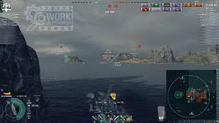 World of Warships - Georgia aka Massa tier 9