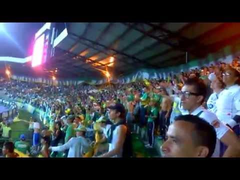 """""""La Banda De El Eje Cafetero"""" Barra: Artillería Verde Sur • Club: Deportes Quindío"""