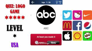 Quiz: Logo Game Usa - All Answers - Walkthrough ( By Lemmings at work )