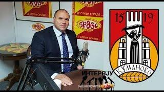 Maksim Dimitrievski, gradonacalnik na opstina Kumanovo