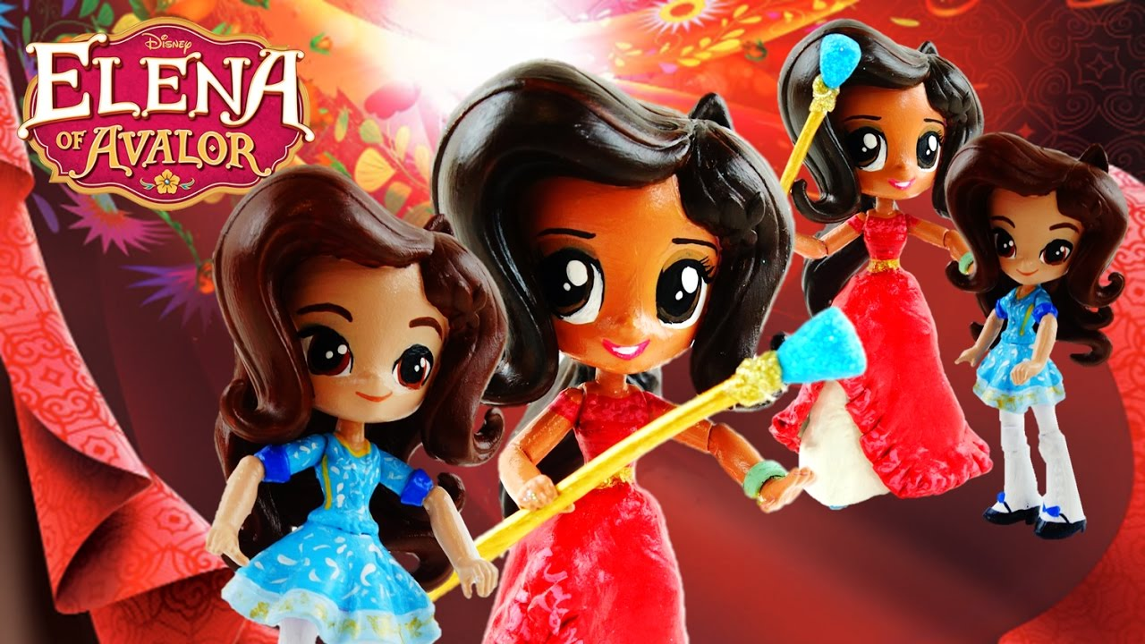 Compilation - Disney Elena of Avalor and Princess Isabel Custom Doll | Evies Toy House