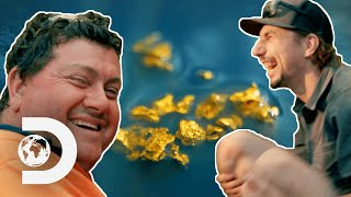 Parker Discovers the Richest Ground He's Ever Prospected | Gold Rush: Parker's Trail