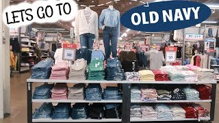 OLD NAVY SHOPPING/ COME WITH ME!!!!