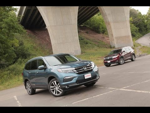 2016 Toyota Highlander vs 2016 Honda Pilot - SUV Comparison