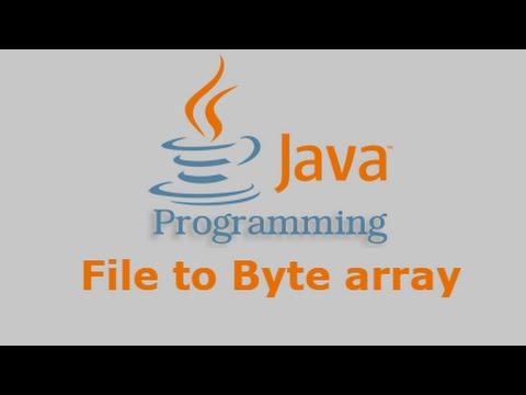 Java Tutorial - File to Byte array