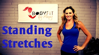 Standing Stretches--Flexibility training to ease tightness and pain