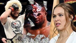 Зарплаты UFC 225, следующий соперник Хабиба, Ронда Роузи войдет в...