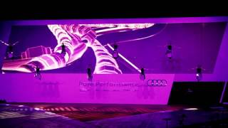 Flying Drummers ® // Latest Show Reel with LED-effects and high speed winches