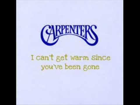 The Carpenters - Where Do I Go From Here