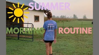 Summer Morning Routine Of An Equestrian | 2019