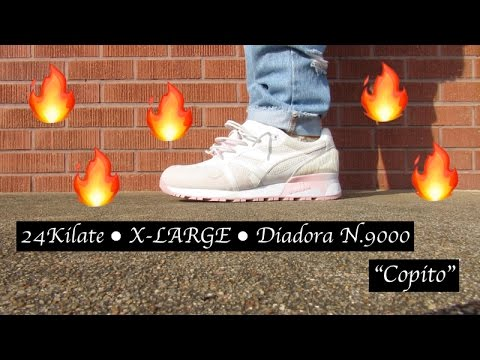 "24Kilate x X-LARGE x Diadora N9000 ""Copito"" Shoe REVIEW + ON FOOT"