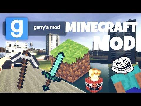 Garry's Mod | MINECRAFT MOD!!