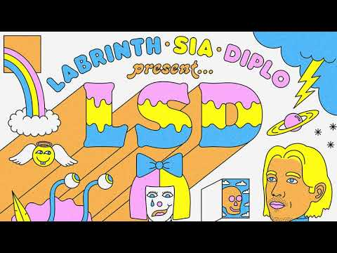 LSD - Angel In Your Eyes (Official Audio) Ft. Labrinth, Sia, Diplo