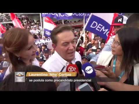Cortizo espera contar con el apoyo de las bases del PRD