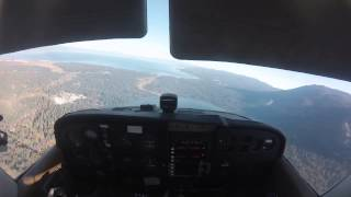 Approach into South Lake Tahoe