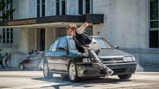"""Baby Driver """"Running Scene"""" (1080p)"""