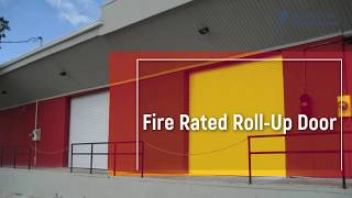 Fire Rated Doors - Made in USA - Rolling Door Manufacturing
